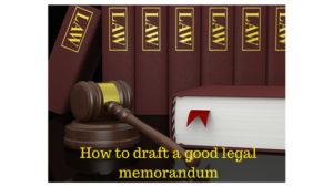 legal memorandum
